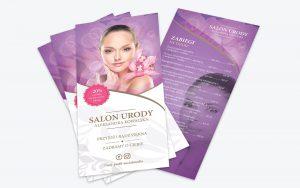 szablon-ulotki-fryzjer-kosmetyczka-1-2-300x188 7 skutecznych sposobów na wypromowanie nowej firmy dzięki którym odniesiesz sukces